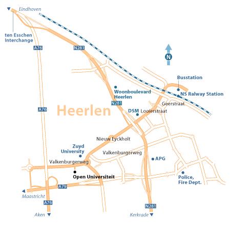 Route description Open Universiteit